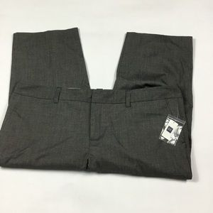 NEW Gap Gray Capris Womens Plus Size 20